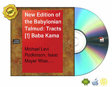 New Edition Babylonian Talmud Original Text Edited,Corrected 16 Vol Set On CDROM