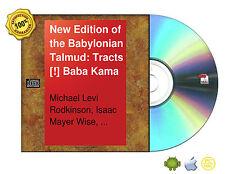New Edition Babylonian Talmud Original Text Edited,Corrected 16 Vol Set On CDROM