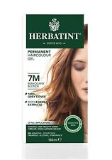 HERBATINT HERBAL NATURAL HAIR DYE MAHOGANY BLOND 7M 150ml - AMMONIA FREE
