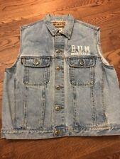 Vintage 90's BUM Equipment Denim Vest - Medium