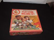 WINNIE THE POOH 1972 PLAY STONE MOLDING SET SEARS TOY RARE PLAYSET COMPLETE