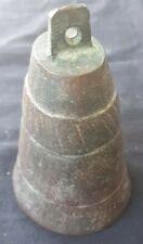 Vintage Bronze/brass African Cow Bell