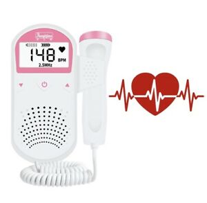 Pränatale Fetal Doppler Ultraschall Herzfrequenz 2.5Mhz Monitor Fötus Schwangere