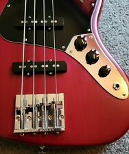 Fender 2007-8 USA highway one jazz bass/Beautiful Red/Clean/No Issues/ LOOK!!!!!