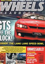 Wheels Ybk 02 Commodore 25 years GTS Commodore WRC F1 V8 Supercars