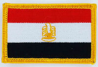 EGYPT FLAG PATCH BADGE IRON ON NEW EMBROIDERED