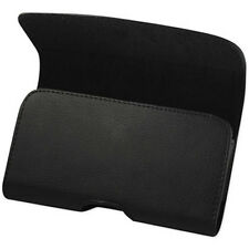 Leather belt clip Holster For  LG Aristo 2 Fits With a Thin layer case on Phone