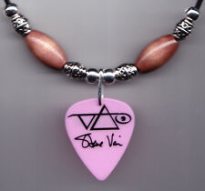 Steve Vai Hieroglyph Pink Guitar Pick Necklace