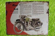 Wandschild Eisen Motor Many H.20x25cm Wand Deko Geschenk in Vintage Haus+Hof
