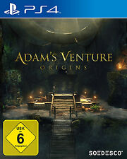 Adams Venture Orgins PS4 Spiel Neu
