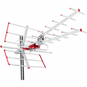Antenne directionnelle/ extérieure TV DVB-T combo UHF VHF Maclean MCTV-855