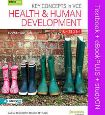 Key Concepts in VCE Health and Human Development Units 3&4 & Ebookplus by Andrew