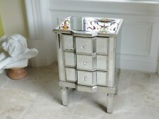 Mirrored Bedside Cabinet