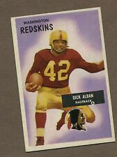1955 Bowman Football Card No. 12 Richard Alban Ex+