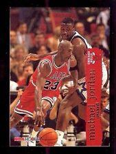 MICHEAL JORDAN 1995 NBA HOOPS #21  (D)