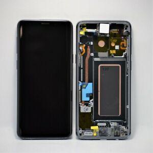 Genuine Samsung S9 (G960F) LCD Assy +Frame New Titanium Grey GH97-21696C