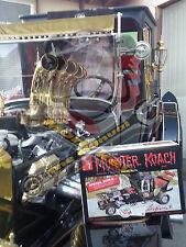 SUPER RARE! GEORGE BARRIS signed autograph MUNSTERS MUNSTER KOACH  model kit AMT