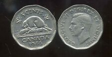 CANADA 5 cents  1946   ANM