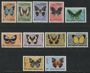 Papua & New Guinea Butterfly set to $1 mint o.g.