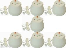 7 x Crabtree 2167 Ceiling Shower Switches 50a DP