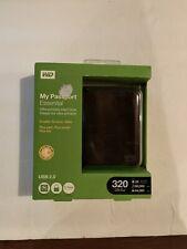 Western Digital WD3200ME 320GB My Passport Essential External Hard Drive USB 2.0