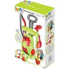 Giocattolo carrello di pulizia intelligente con elettronica Aspirapolvere Spazzola Pala Regalo di Natale