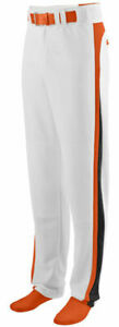 Augusta Sportswear Youth Relaxed Fit Brass Zipper Fly Slider Softball Pant. 1478