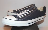 Converse Chuck Taylor All Star Ox Low Navy Blue White Sneakers Men's Size 8 9 10