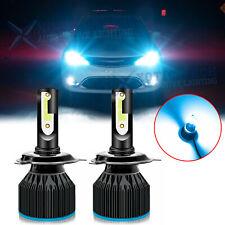H4 9003 HB2 LED Headlight Bulb Conversion Kit High Low Beam 8000K Blue 6000LM