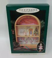 Hallmark Keepsake Christmas Ornament Nutcracker Ballet Display Stand & Ballerina