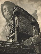 1940s Vintage Lionel Wendt Surrealist Modernist Ruins Photo Gravure Print