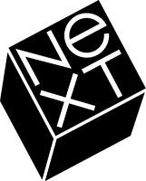 NEXT COMPUTERS LOGO VINTAGE - SET OF 2 - BLACK