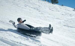 Rodelschlauch Schlauch zum RODELN, Snowtube Riesen Spass für Kinder 8 Zoll  54cm