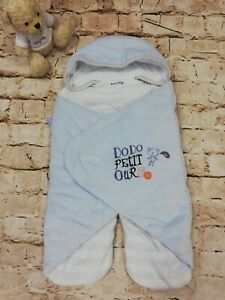 Baby Blue Sucre d'Orge Travel Baby Nest. Age 0-6 Months