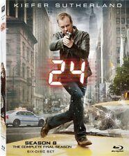 24: The Complete Eighth Season [4 Dis Blu-ray Region A BLU-RAY/WS