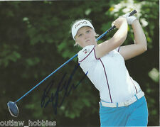 LPGA Brooke Henderson Autographed Signed 8x10 Photo COA M