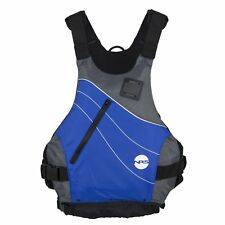 NRS Vapor Adult Large X-Large PFD Type III Boating Kayak Life Jacket Vest, Blue