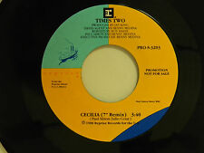 "Times Two dj 45 CECILIA (7"" Remix) / same song ~ Reprise M- soul"