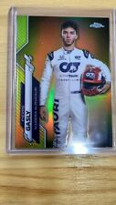 New listing /50 Pierre Gasly 2020 Topps Chrome Formula 1 Gold Refractor Driver #11 1st Year
