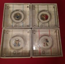 full set 2017 beatrix potter silver proof 50p coins peter rabbit christening Se2