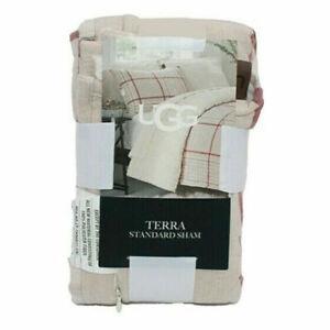 New UGG Terra STANDARD Pillow Sham Size Standard