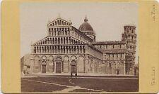 Van Lint Pise Pisa Lungarno Italie Italia cdv Vintage albumine