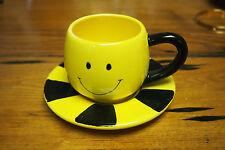 Fib Burton & Burton Smiley Coffee Cup and Saucer