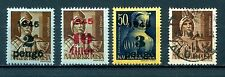 Hungary: one 1943 to 1945 used three 1945  Surcharged on 1943-45 Stamps MH