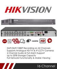 Hikvision DS-7216HUHI-K2 5MP 16 Channel TVI, DVR & NVR Tribrid CCTV Recorder