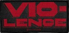 Vio-Lence Logo Patch 10cm x 4.5cm