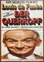 Plakat Deutsche La Zwietracht Annie Girardot Louis De Funès Claude Zidi 60x84cm