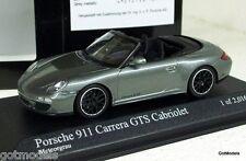 MINICHAMPS 1/43 - 410 060130 PORSCHE 911 (997 II) CARRERA GTS CABRIOLET 2011 GRY