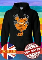 Garfield The Cat Scratch Wall Cartoon Funny Movie Hoodie Sweatshirt Pullover 707