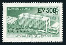 Chile 441,441a sheet,MNH.Michel 796,Bl.A796 UPU-100,1974.Headquarters in Bern.